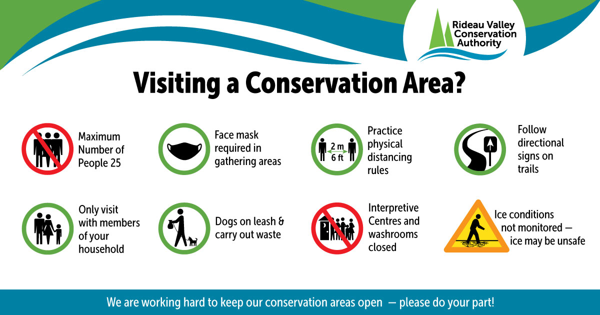 January COVID conservation area social media