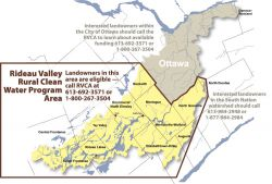 Rideau Valley Rural Clean Water Program Area