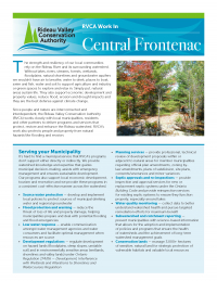 Central Frontenac Municipal Information Sheet