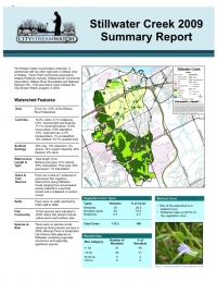 Stillwater Creek 2009 - Summary Report