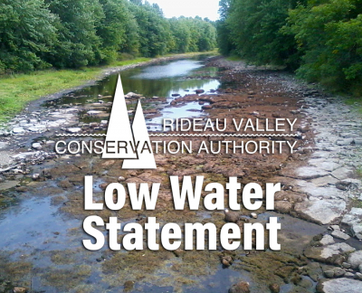 Low Water Status Update in Rideau River Watershed (Sept. 14)