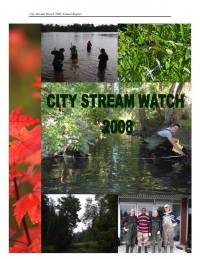 City Stream Watch 2008 - Annual Report