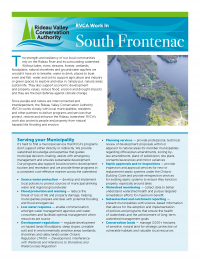 South Frontenac Municipal Information Sheet