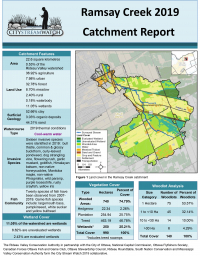 Ramsay Creek Catchment Report 2019