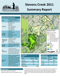 Stevens Creek 2011 - Summary Report