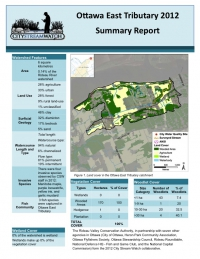 Ottawa East Tributary 2012 - Summary Report