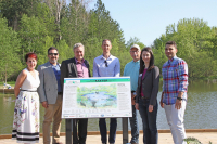 Baxter Pond Restoration Celebrated