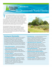 Drummond/North Elmsley Municipal Information Sheet