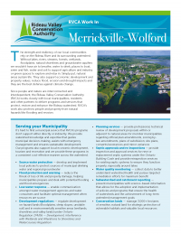Merrickville-Wolford Municipal Information Sheet