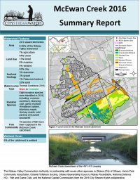 McEwan Creek - 2016  Summary Report