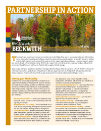 Beckwith Municipal Information Sheet