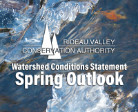 Lakes in Upper Rideau Watershed Reaching Flood Level