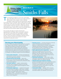 Smiths Falls Municipal Information Sheet