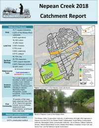 City Stream Watch 2018 Nepean Creek