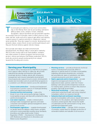 Rideau Lakes Municipal Information Sheet